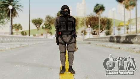 MGSV Phantom Pain Cipher XOF Afghanistan para GTA San Andreas segunda tela