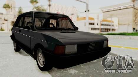 Fiat 147 Spazio TR para GTA San Andreas esquerda vista