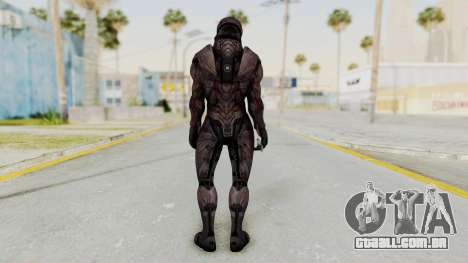 Mass Effect 3 Collector Male Armor para GTA San Andreas terceira tela