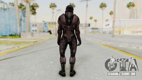 Mass Effect 3 Collector Male Armor para GTA San Andreas terceira tela