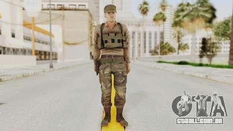 MGSV Phantom Pain Rogue Coyote Soldier Shirt v1 para GTA San Andreas segunda tela