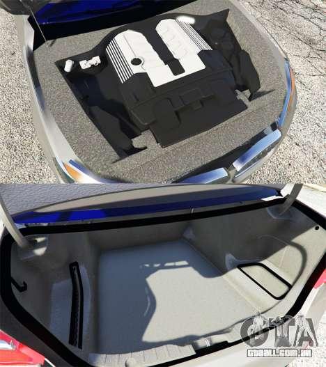 GTA 5 BMW 750Li xDrive (G12) 2016 frente vista lateral direita