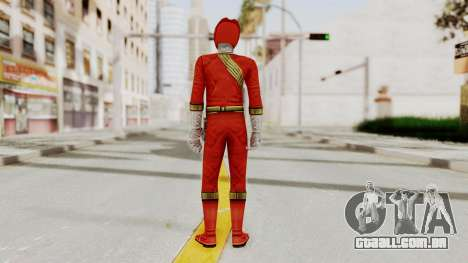 Power Rangers Wild Force - Red para GTA San Andreas terceira tela