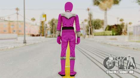 Power Rangers Time Force - Pink para GTA San Andreas terceira tela