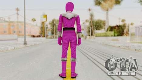 Power Rangers Time Force - Pink para GTA San Andreas terceira tela