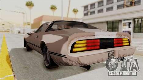 Beta VC Phoenix para GTA San Andreas esquerda vista