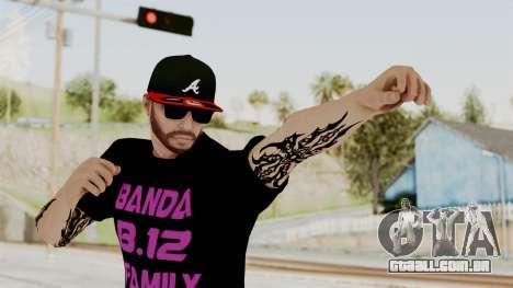 Banda 12 Skin para GTA San Andreas