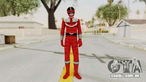 Power Rangers Time Force - Red para GTA San Andreas segunda tela