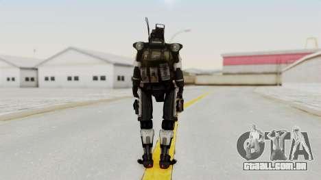 TitanFall Spectre para GTA San Andreas terceira tela