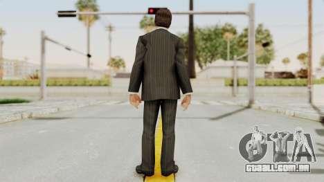 Scarface Tony Montana Suit v2 para GTA San Andreas terceira tela
