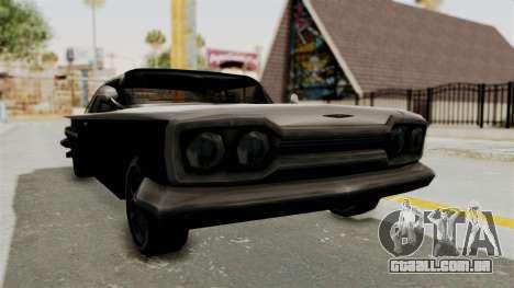 Voodoo Limited Edition para GTA San Andreas vista direita