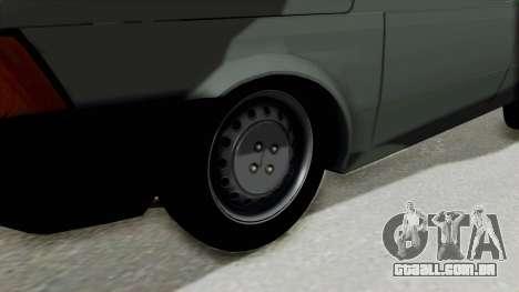 Fiat 147 Vivace para GTA San Andreas vista traseira