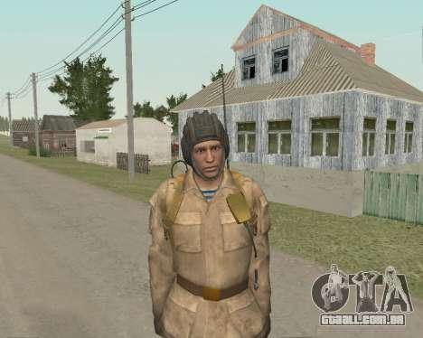 Soldados soviéticos para GTA San Andreas