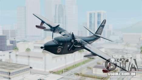 Grumman HU-16 Albatross para GTA San Andreas traseira esquerda vista