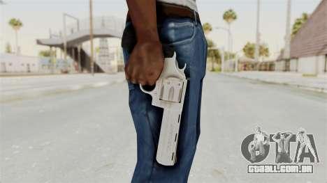 Colt .357 Silver para GTA San Andreas terceira tela