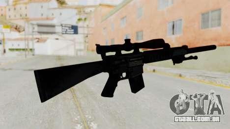 SR-25 para GTA San Andreas segunda tela