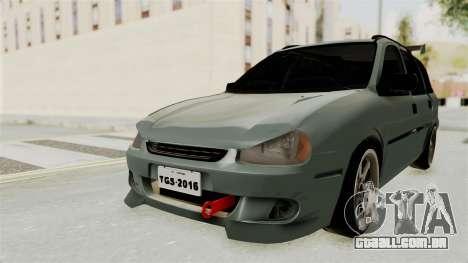 Chevrolet Corsa Wagon Tuning para GTA San Andreas traseira esquerda vista