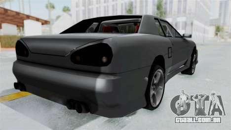Elegy v2 para GTA San Andreas esquerda vista
