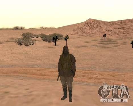 Soviet Sniper para GTA San Andreas quinto tela