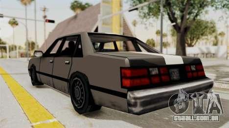 Stanier Turbo para GTA San Andreas esquerda vista