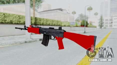 IOFB INSAS Red para GTA San Andreas segunda tela