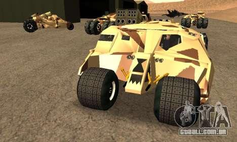 Army Tumbler Rocket Launcher from TDKR para GTA San Andreas