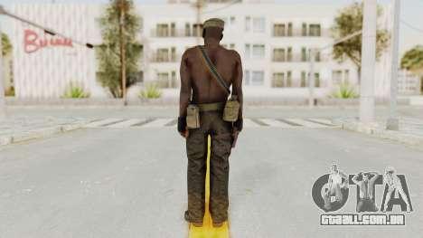 MGSV Phantom Pain Rogue Coyote Soldier Naked v2 para GTA San Andreas terceira tela