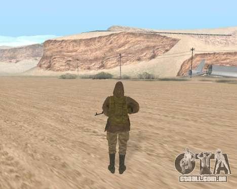 Soviet Sniper para GTA San Andreas segunda tela