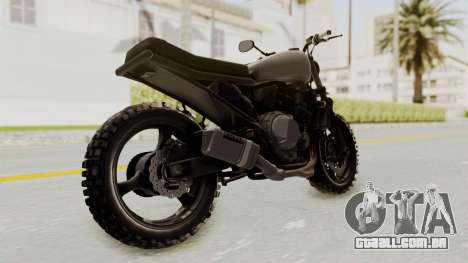 Mad Max Inspiration Bike para GTA San Andreas vista direita