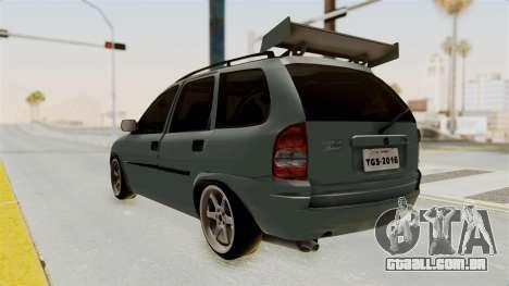 Chevrolet Corsa Wagon Tuning para GTA San Andreas esquerda vista
