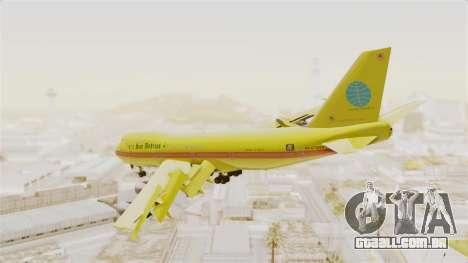 Boeing 747-200 Trans San Andreas Air para GTA San Andreas esquerda vista