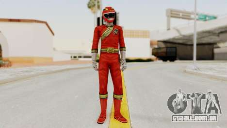 Power Rangers Wild Force - Red para GTA San Andreas segunda tela