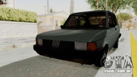 Fiat 147 Vivace para GTA San Andreas vista direita