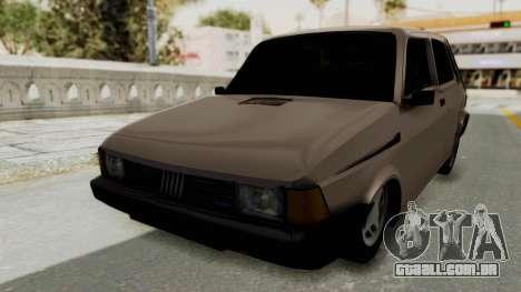 Fiat 147 TR De Picadas para GTA San Andreas traseira esquerda vista