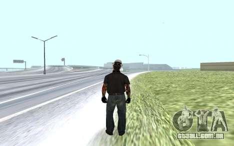 Novo guarda de segurança para GTA San Andreas segunda tela