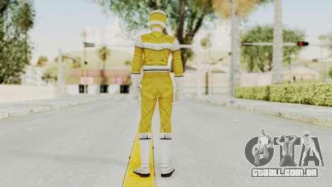 Power Rangers In Space - Yellow para GTA San Andreas terceira tela