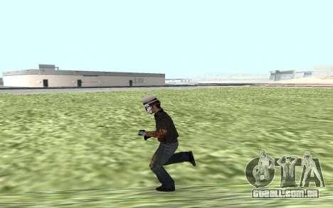 Novo guarda de segurança para GTA San Andreas terceira tela