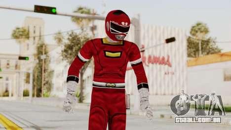 Power Rangers Turbo - Red para GTA San Andreas