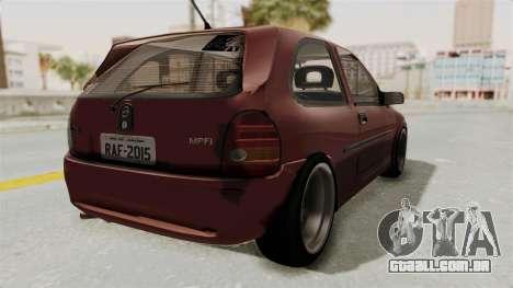 Chevrolet Corsa Hatchback Tuning v1 para GTA San Andreas vista direita