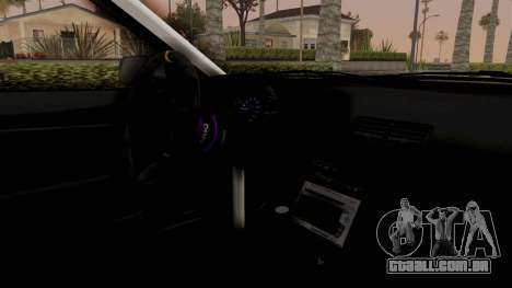 Nissan Skyline R32 Rusty Rebel para GTA San Andreas vista traseira