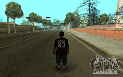 Grove Gang Skin para GTA San Andreas segunda tela