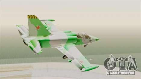 LCA L-39 Albatros para GTA San Andreas vista direita