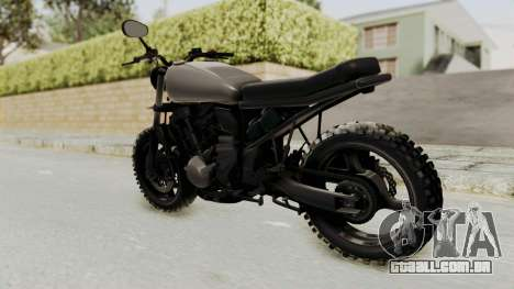 Mad Max Inspiration Bike para GTA San Andreas esquerda vista