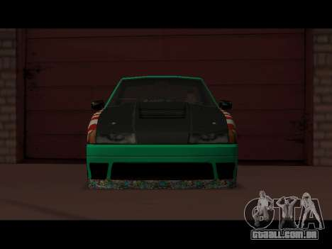Elegy Paintjob JDM para GTA San Andreas traseira esquerda vista