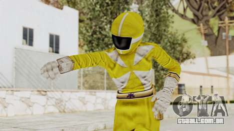 Power Rangers Lightspeed Rescue - Yellow para GTA San Andreas