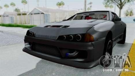 Elegy v2 para GTA San Andreas vista direita