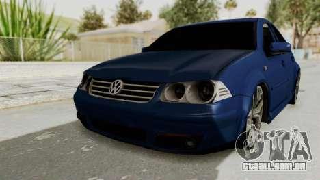 Volkswagen Bora 1.8T para GTA San Andreas