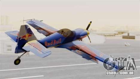 Zlin Z-50 LS Redbull para GTA San Andreas esquerda vista