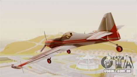 Zlin Z-50 LS Classic para GTA San Andreas esquerda vista