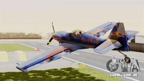 Zlin Z-50 LS Redbull para GTA San Andreas vista direita